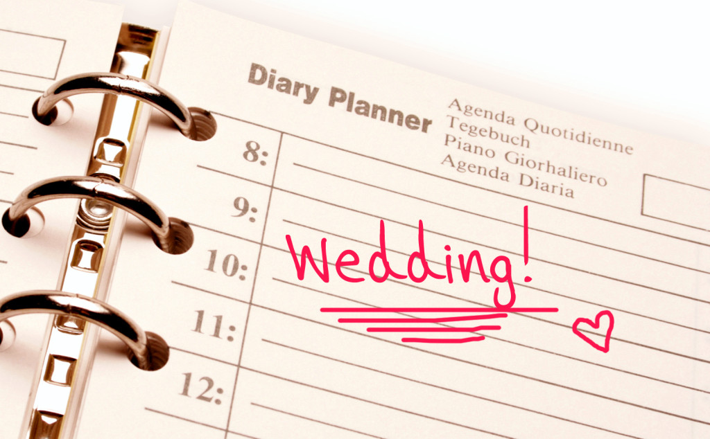 Wedding planning, wedding day